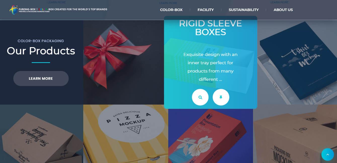彩盒包装材料厂家芙蓉印务选择百客聚建站服务-芙蓉印务动画设计