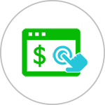 按点击付费Pay-per-click icon-iStarto