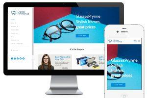 眼镜电商网站prynneshop-跨境电商网站
