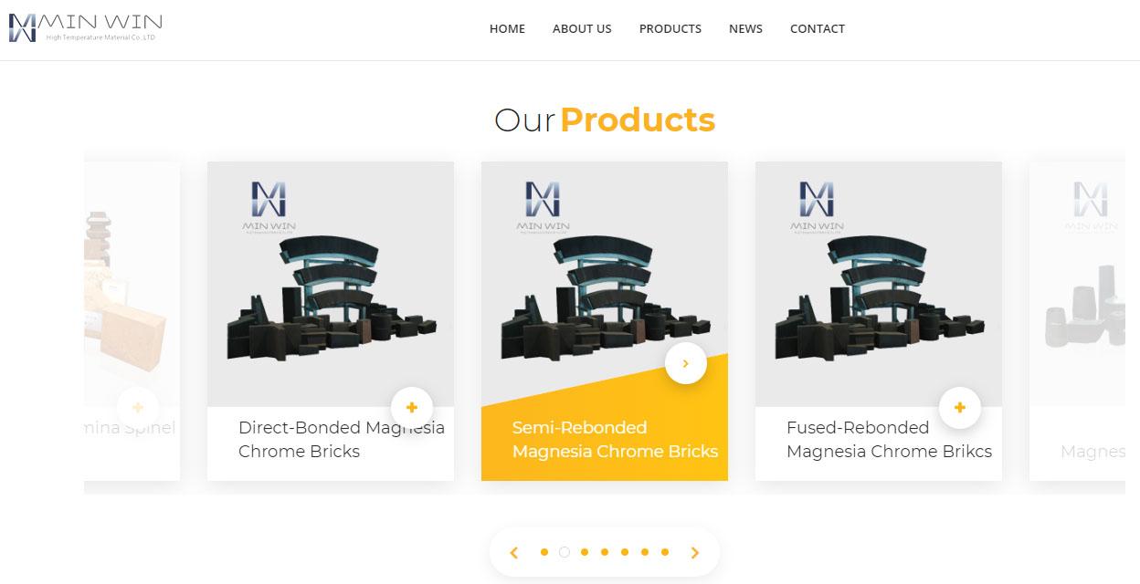 防火材料MinWin选择百客聚制作营销型网站-动画设计-iStarto百客聚建站案例