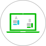 AB测试策略A&B-testing icon-iStarto