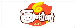 画啦啦logo