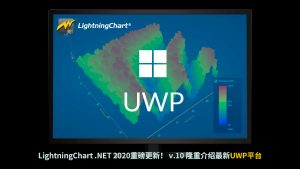 LightningChart .NET 2020重磅更新! v.10 隆重介绍最新UWP平台